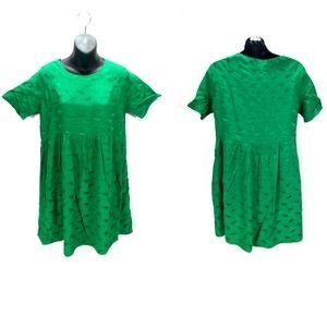 Asos Green Elephant Print Sheath Mini Dress 8